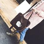 Women Crossbody Bag Canvas Shoulder Bag Cartoon Cat Print Bag Handbag Purse Tote
