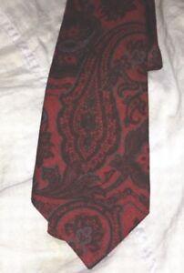 $295 KITON Napoli wool/Silk Tie hand made in Italy