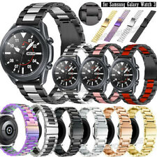 Stainless Steel Bracelet Wrist Band Straps for Samsung Galaxy Watch 3 45mm 41mm