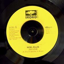 "NEW 7"" Noel Ellis - Jah Love  /  Lone Ark Riddim Force - Dub Version"
