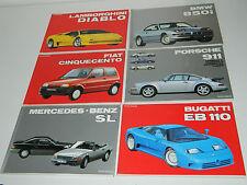 LOT 6 LIVRE la collection by AUTOMOBILIA porsche 911 MERCEDES SL bugatti PASINI