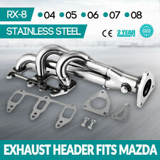 CE STAINLESS STEEL HEADER FOR MAZDA RX8 SE3P 1.3L EXHAUST/MANIFOLD Stock
