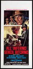 CINEMA-locandina ALL'INFERNO SENZA RITORNO brewer,mclarty,westerbrook,RICHARDSON