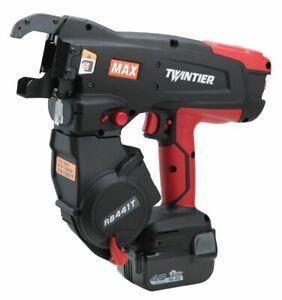 MAX RB441T TwinTier Cordless Rebar Tie Wire Machine