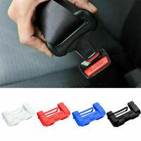 Universal Anti-Scratch Car Seats Belt Buckle Silicone Cover Clip Car Accessories