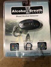 Excalibur Alcohol Breath Tester Keychain w/Digital Timer & Led Flashlight Nib