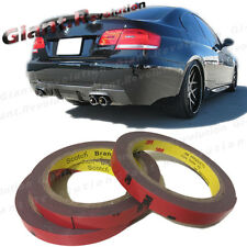 3M Double Side Acrylic Foam Adhesive Tape 3 Roll For DIY Car Interior Body Parts