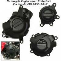 Motorcycles Engine Stator Cover Protection Case Black For Honda CBR1000RR 2017
