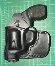 Tagua BSH-711 LH Leather Belt Slide Holster S&W J frame Revolver & similar