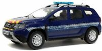 SOLIDO 1804603 DACIA DUSTER MK2 Gendarmerie 2019  dark blue model car  1:18th