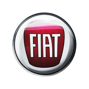 Adesivo Fiat 3D Ufficiale Logo 40 mm