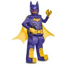 Girls Lego Batman Movie Deluxe Prestige Batgirl Costume Size LARGE 10-12 ~ NEW