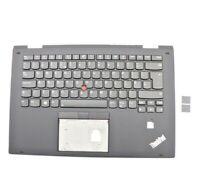 Genuine Lenovo Thinkpad X1 Yoga 2nd Gen Palmrest UK Keyboard Backlit FRU:01HY919