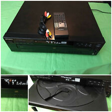 SONY CDP-C435 FIVE 5 Disc CD Player Changer Remote Cables Basic Instructions