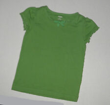GYMBOREE BRIGHT TULIP SOLID GREEN BOW TOP  GIRLS 6 SUMMER COTTON