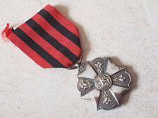 Médaille décoration honneur militaria CIVIQUE 2è CLASSE Belgique Medal Medaglia