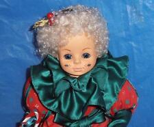 Brinn's, Vintage Porcelain Doll (  Tina the Christmas Clown ) Lim. Ed., COA