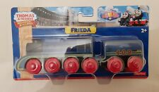 Thomas The Tank Engine & Friends FRIEDA WOODEN TRAIN WOOD NEW IN BOX