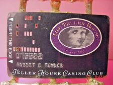 Central City, Colorado The Teller House Casino Old Punch Card Defunct