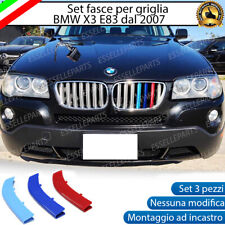 BMW SERIE X3 E83 DAL 2007 + COVER PER GRIGLIA IN STILE BMW M SPORT AD INCASTRO