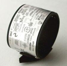 Logo Rock Band Heavy Metal Music Aluminium Bracelet Wristband birthday gift