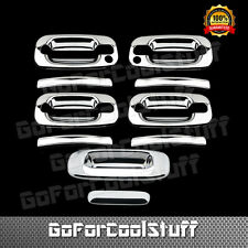 For 1999~2006 Silverado Sierra Chrome 4 Door Handle Tailgate Cover W