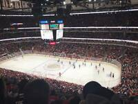 Chicago Blackhawks vs Canadiens 2 Tickets Sect.313 Row10, TBA 7:30 pm