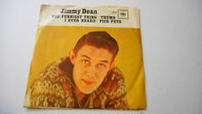JIMMY DEAN 'Funniest Thing I Ever Heard / Thumb' 45 RPM PICTURE SLEEVE (COUNTRY)