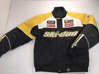 Ski-Doo Team Racing Jacket BRP Snowmobile RPM Yellow Black SP Small Ski Doo