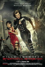 "01 Resident Evil Retribution 2012 Movie 14""x21"" Poster"