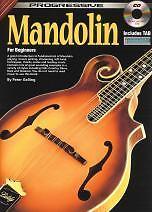 PROGRESSIVE MANDOLIN for Beginners Book & CD*