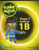Power Maths Year 1 Textbook 1B (Power Maths Print) by , NEW Book, (Paperback) FR