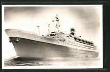 Ansichtskarte Passagierschiff Statendam in voller Fahrt, Holland-Afrika Lijn