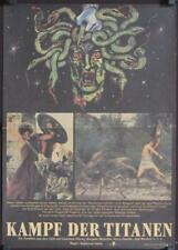 R648 CLASH OF THE TITANS East German '85 different art of Medusa's severed head