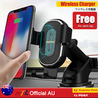 【HTL PRO】2in1 Wireless Car Charger Mount Suction Cup&Air Vent Clip Phone Holder