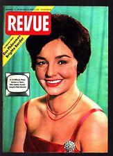 Revue Nr. 11 12.3.1960 Mady Manstein (Cover), Brigitte Bardot, Jackie Lane