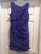 Fabulous New without Tags Sarlett Nite Purple Women's Dress Size 12-Never Worn!