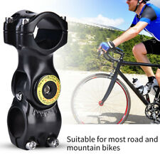 0°-60° Aluminum Alloy Adjustable Mountain Bike Handlebar Stem Cycling Accessory