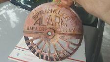 Vintage RAISLER CORP N.Y GRIMES SPRINKLER ALARM Bell Cover