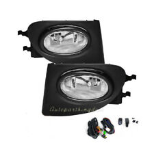 Fog Lights Bumper Lamps Light Kit - Clear For 02-05 Honda Civic Si EP3 FL7040