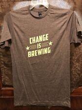CHANGE IS BREWING N Carolina ~ Men's Medium ~ NEW ~ Craft Freedom .ORG T Shirt