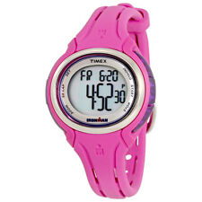 Timex Ironman Ladies Pink Resin Digital Watch TW5K904009J