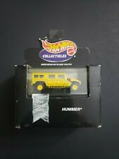 Hot Wheels Collectibles Hummers Yellow Hummer  1:64 Limited Edition NEW RARE