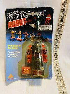 MOTORIZED  ROBOTPULL BACK AND GO TRASFORMABILE INTERCHANGER NEW