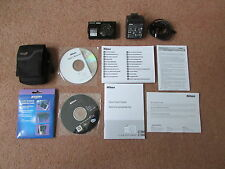 Nikon COOLPIX S4000 Smart écran Tactile 12.0MP appareil photo numérique-noir (Très bon état)