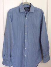 POLO RALPH LAUREN Striped Shirt, Size 14.5 in