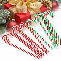 6PCS Christmas Acrylic 15cm Candy Cane Xmas Tree Hanging Decoration Ornaments