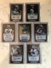 2017 Prizm Bronze Stars First Of The Line Eagles Autograph Set (7) 1/1? Clement