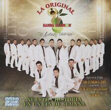 La Original Banda el limon Nuestra Historia un fin de Semana CD New Nuevo Sealed