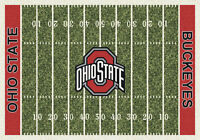 Ohio State Buckeyes Milliken NCAA Home Field Indoor Area Rug